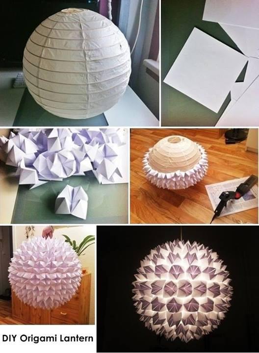 Papierlampe