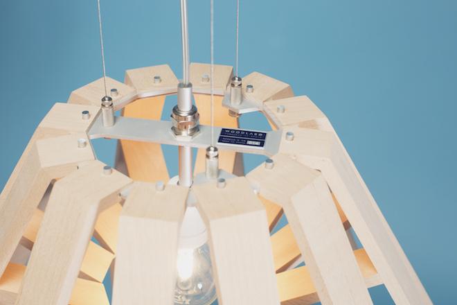 Apollo 8: Lampe von Woodlabo (Bild: Woodlabo)