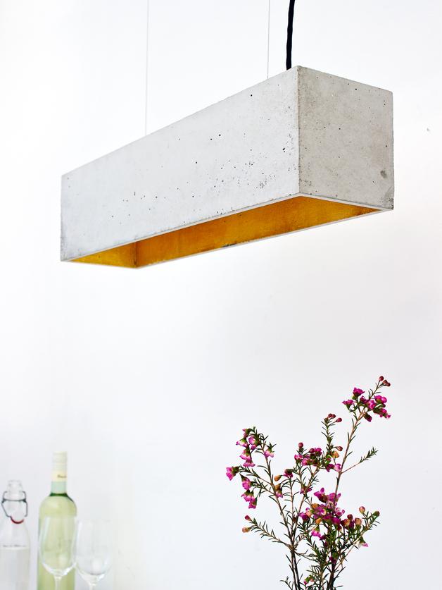 esstisch lampen beton