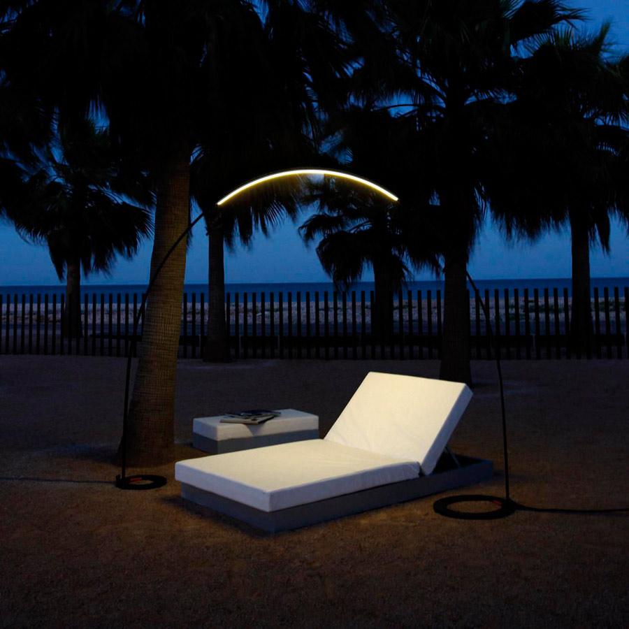 Halley 4150: LED-Outdoor-Lampe von Jordi Vilardell & Meritxell Vidal (Bildquelle: vibia.com)