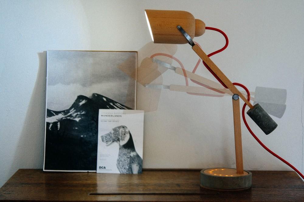 Lux: Lichttherapie-Lampe von Steve Swanton (Bild: steveswanton.com)
