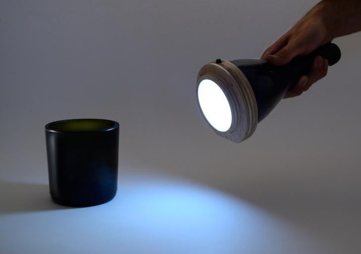 Taschenlampe von Dario Martone und Lucirmás (Bildquelle: inhabitat.com)