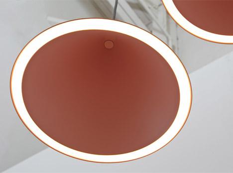"""""""Annular""""-Hängelampe vom MSDS Studio (Bildquelle: www.dezeen.com)"""
