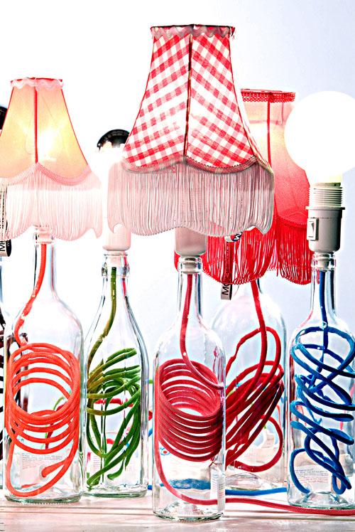 lampen aus flaschen lampen und anderes aus einmach gl sern flaschen blog an na haus und. Black Bedroom Furniture Sets. Home Design Ideas