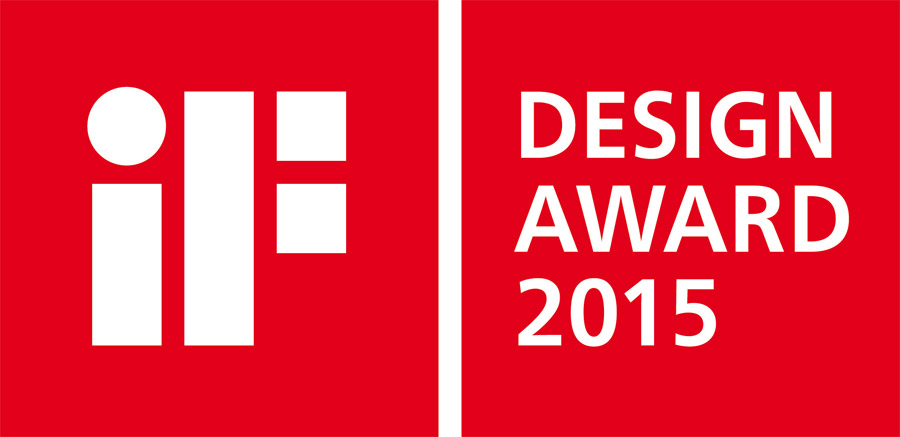 Logo des iF Design Awards 2015