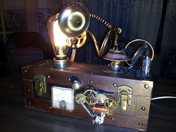 Time Machine Lamp