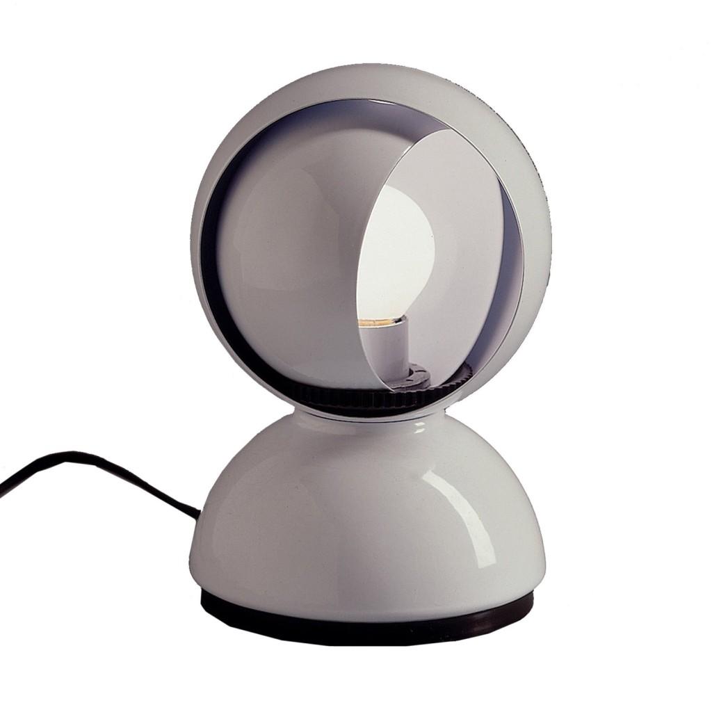 designklassiker tischleuchte eclisse von vico magistretti 1966 kult lampen. Black Bedroom Furniture Sets. Home Design Ideas