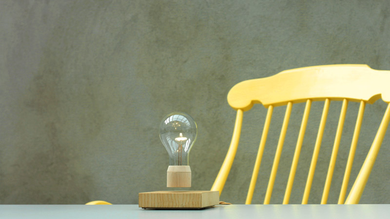 "Schwebende Lampe: ""Flyte"" von Simon Morris (Foto: Simon Morris)"