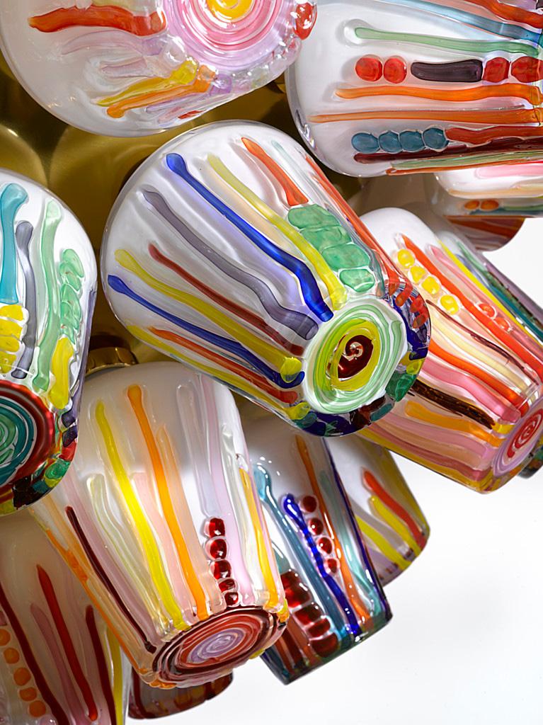 """""""Candy"""" von Fernando und Humberto Campana für Lasvit (Foto: Lasvit)"""