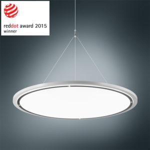 "Red Dot Design Award-Gewinner ""Lateralo Ring LED"": Büroleuchte von Trilux (Foto: Trilux)"