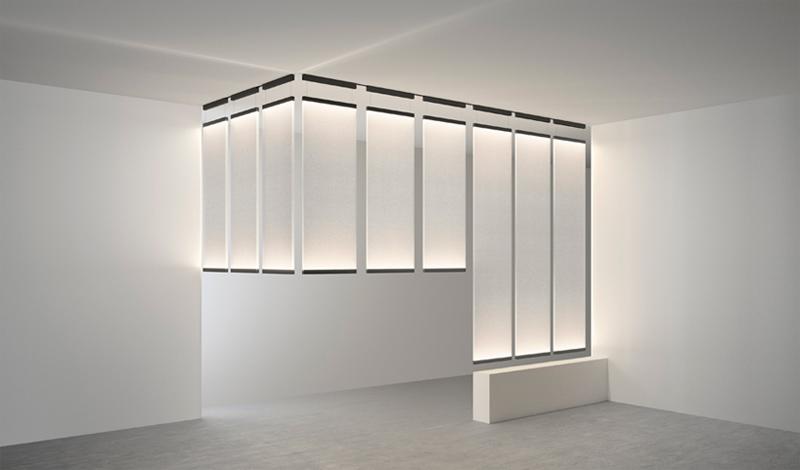 """""""Curtain"""" von Arik Levy für Vibia (Foto: Vibia)"""