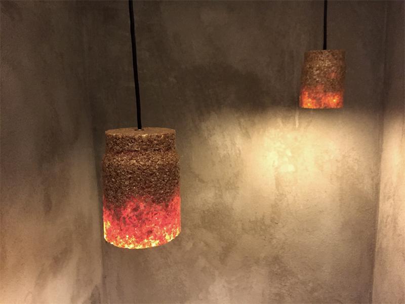 """Lampe aus Holzspänen: """"Spån""""-Lampe von Múk (Foto: Múk)"""