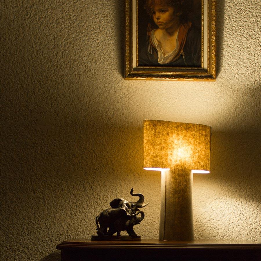 """Sleeve Table Lamp"" von Metrocuadro Design (Foto: Metrocuadro Design)"