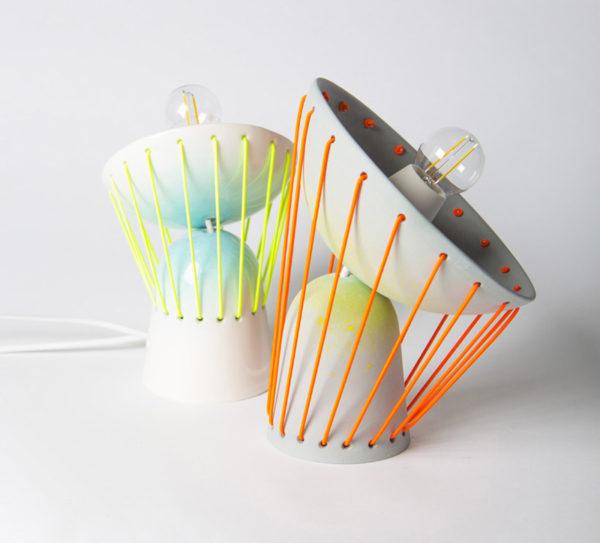Elastic lights von marta bordes foto marta bordes for Skandinavische lampen klassiker