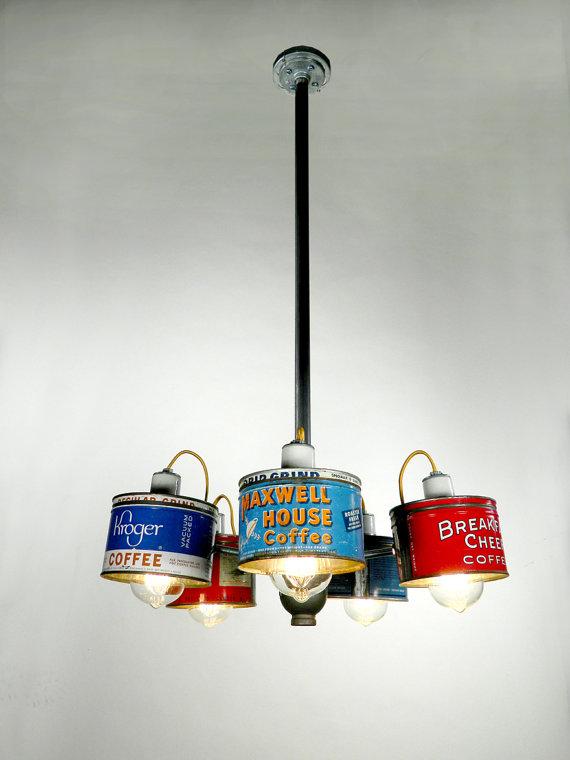 Lampe aus Dosen (Bild: Rodney Allen Trice / Etsy)