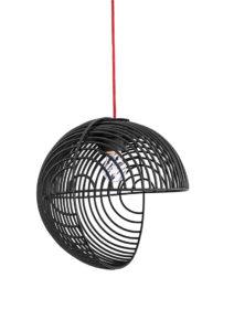 "Op-Art-Designerlampe: ""Dana"" von Luis Arravillaga (Foto:-Luis Arravillaga)"
