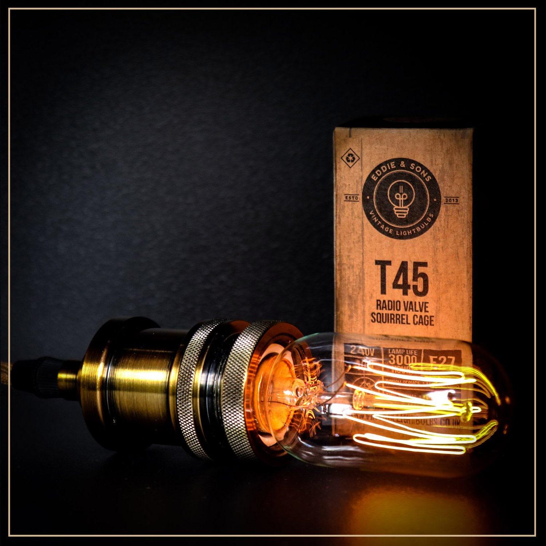 T45 Radio-Eichhörnchen Käfig Vintage Lampe (Bild: Amazon)