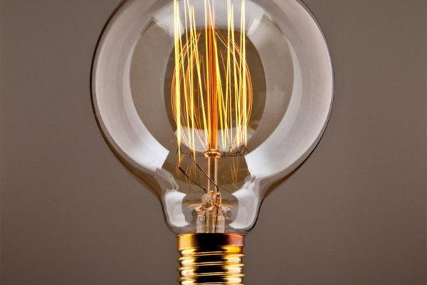 PureLume™ Edison Vintage MasterGlobe Glühbirne (Bild: Amazon)