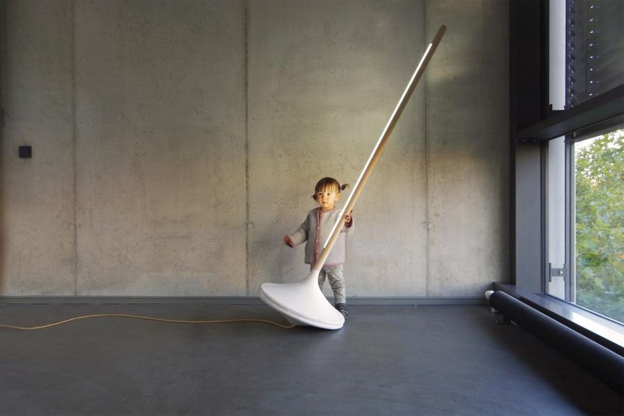 """""""Pumpal""""-Designlampe von Ewan Cashman"""