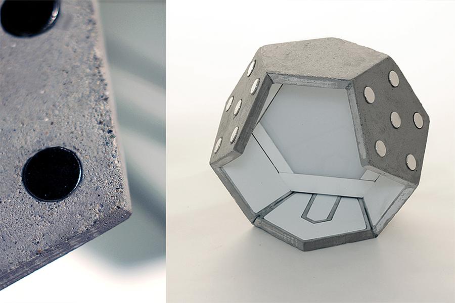 """""""D-Twelve"""": Modulare Hängeleuchte von Plato Design"""