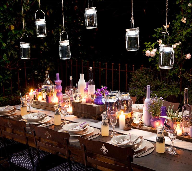 Einmachglas Lampe Bild Amazon Partnerprogramm