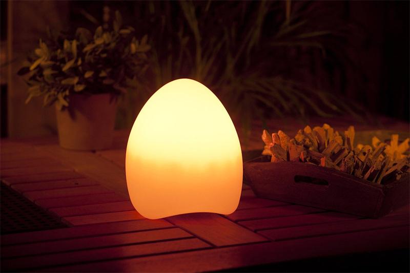 LED-Tischleuchte Egg Smooz (Bild: Techmar)