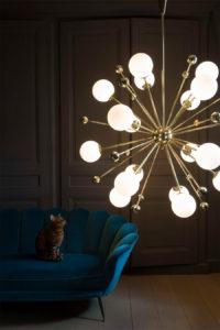 Sputniklampe, Art-déco und ein Hauch Magie: Leuchten von Magic Circus Éditions