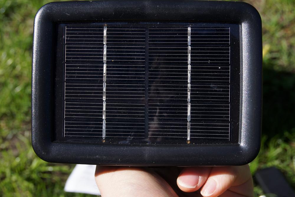 Solarleuchte für den Garten: Solarspots von Esotec