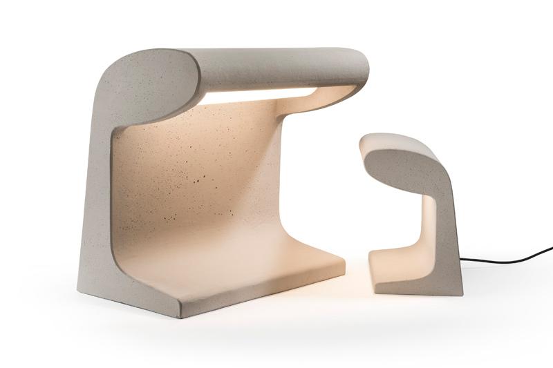 """Borne Béton""-Designerleuchte von Le Corbusier (Bild: Nemo)"