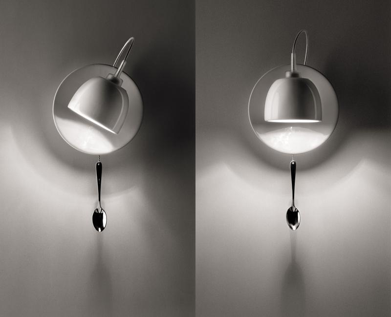"""""""Light au Lait"""" von Fabien Dumas und Ingo Maurer (2004)"""