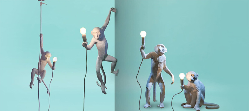 """Monkey Lamp"" von Seletti (Foto: Seletti)"