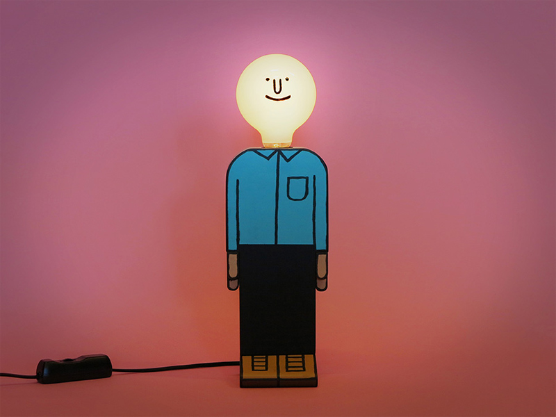 """Bright Idea"" von Jean Jullien"
