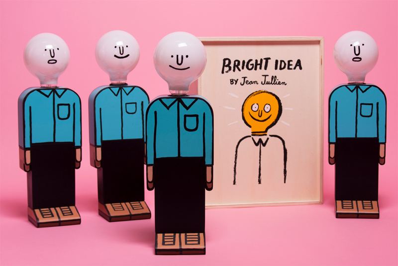 """""""Bright Idea"""" von Jean Jullien"""