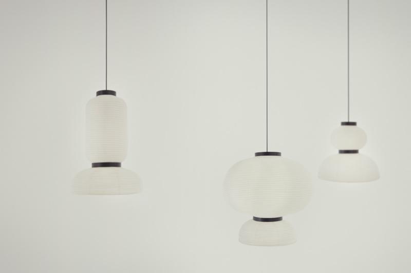 """Ein Gruppenbild der """"Formakami""""-Reispapierlampen von Jaime Hayon (Bild: &tradition)"""