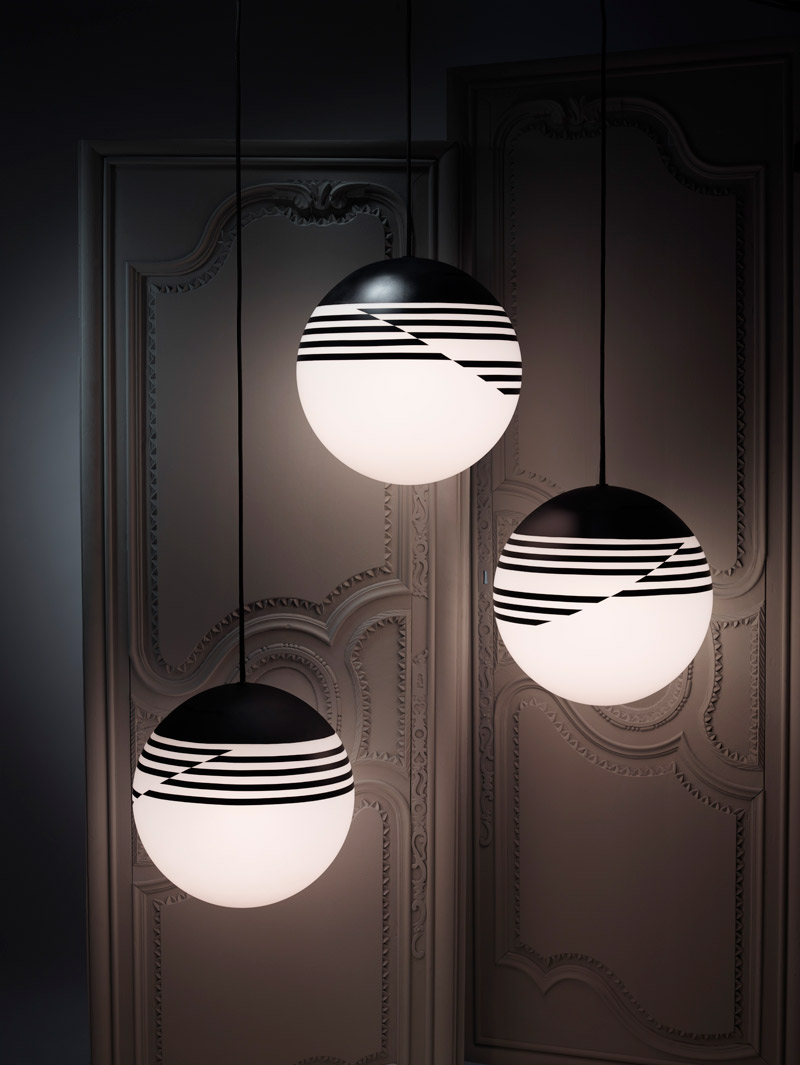 """Optical""-Leuchtenserie von Lee Broom (Foto: Arthur Woodcroft / Lee Broom)"