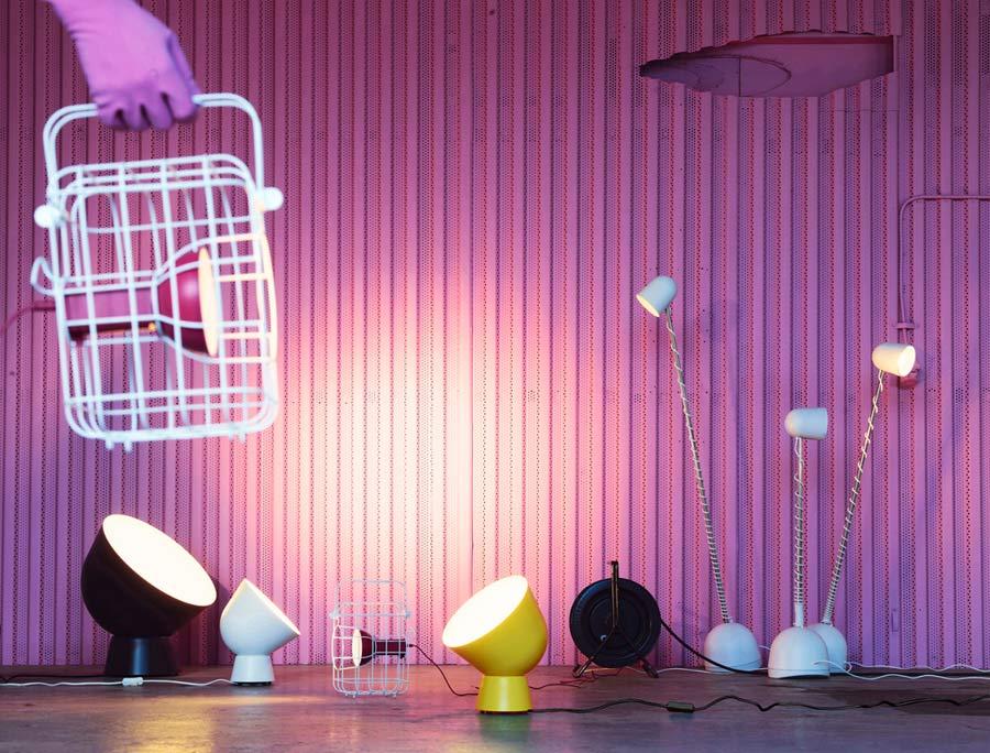 """Alle Leuchten der neuen """"Ikea PS 2017""""-Kollektion im Überblick (Foto: Inter IKEA Systems B.V. 2017)"""