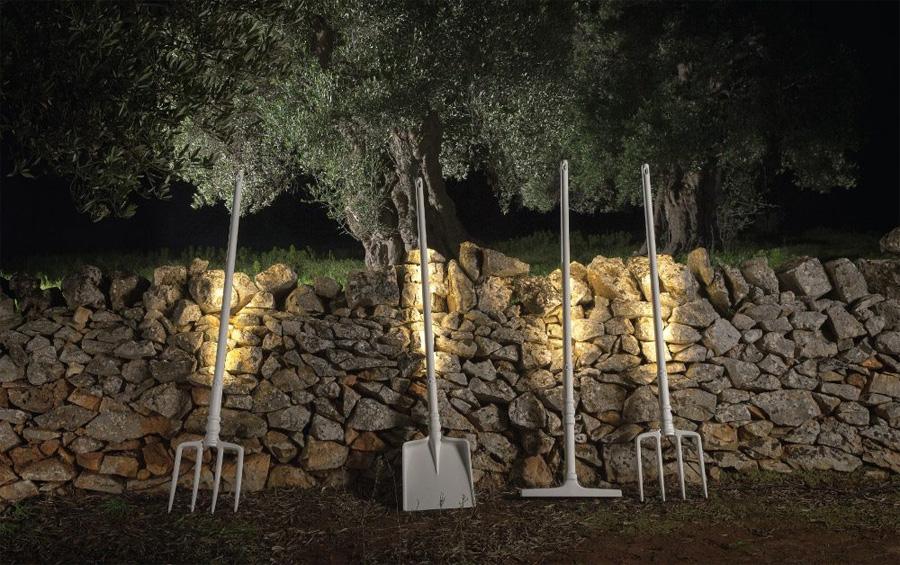 """Neue Outdoor-Leuchten von Matteo Ugolini: """"Tobia""""-Leuchten von Karman (Bild: Karman)"""
