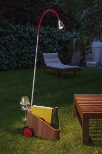 """Mobile Lichtdusche: """"Bookowski"""" von Kai Steffens für Less'n'More"""