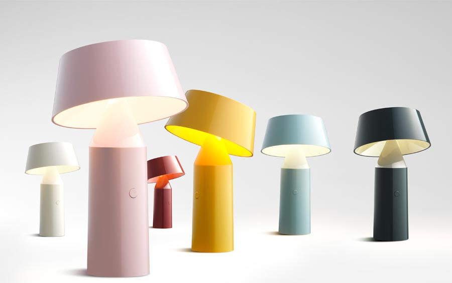 akkuleuchte bicoca von christophe mathieu f r marset. Black Bedroom Furniture Sets. Home Design Ideas