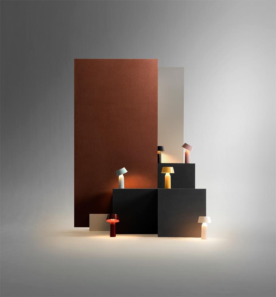 """Akkuleuchte """"Bicoca"""" von Christophe Mathieu für Marset (Foto: Marset)"""
