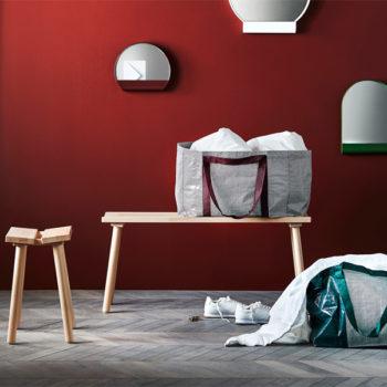 """Neue Frakta-Tasche aus der """"Ypperlig""""-Kollektion von Hay (Foto: Ikea)"""