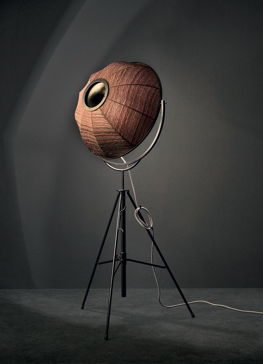 "Designklassiker von Mariano Fortuny y Madrazo: ""Fortuny""-Stehleuchte (Foto: Pallucco Italien)"