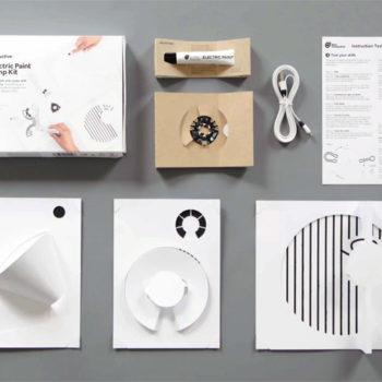 """DIY Leuchte für Bastelfans: """"Electric Paint Lamp Kit"""" (Foto: Bare Conductive)"""