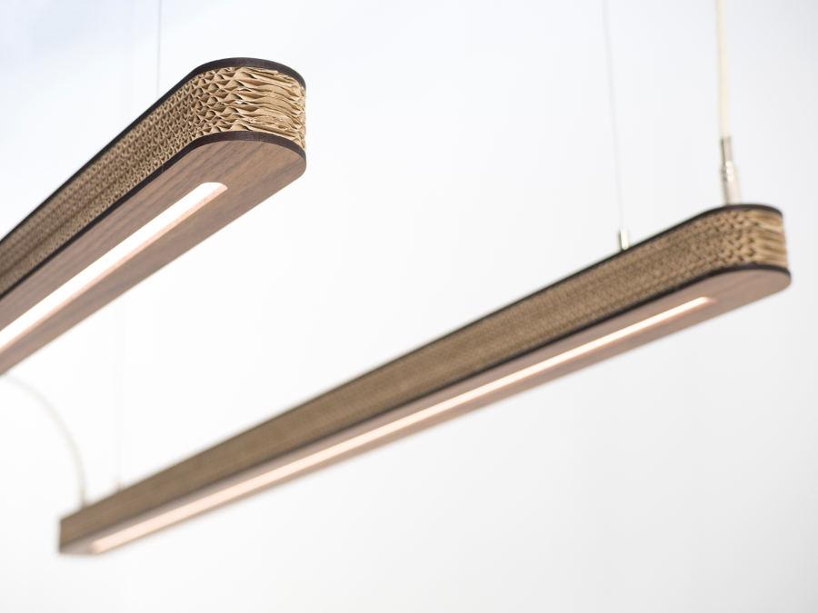 "Nachhaltige Designerlampe: ""Cartoni 900""- Pendelleuchte von Cartoni Design"