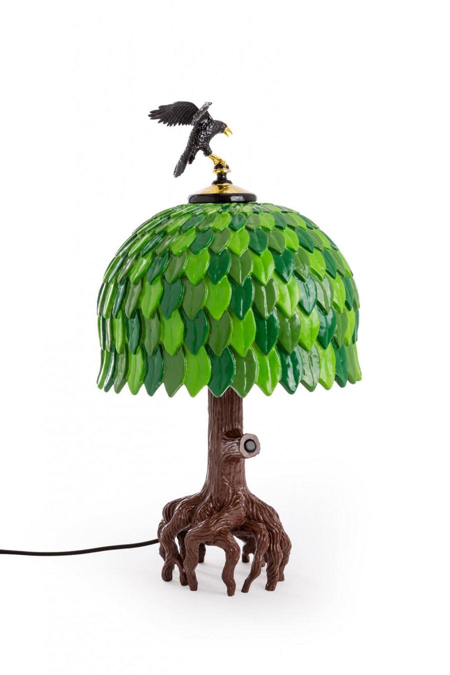 """Kitsch oder Kult? """"Tiffany Tree""""-Lamp von Seletti (Foto: Seletti)"""