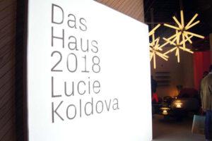 """Kreiert von Lucie Koldova: """"Das Haus"""" 2018"""