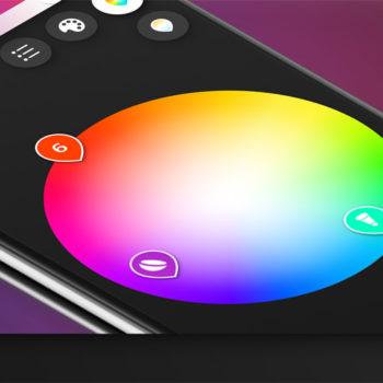 Eine neue Version der Hue-App erscheint im zweiten Quartal 2018 (Foto: Philips)