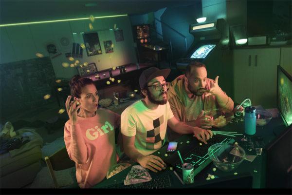 Philips: Hue Sync liefert Hintergrundlicht für Gamer (Foto: Philips)