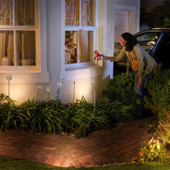 Philips plant Hue-Lampen für draußen (Foto: Philips)