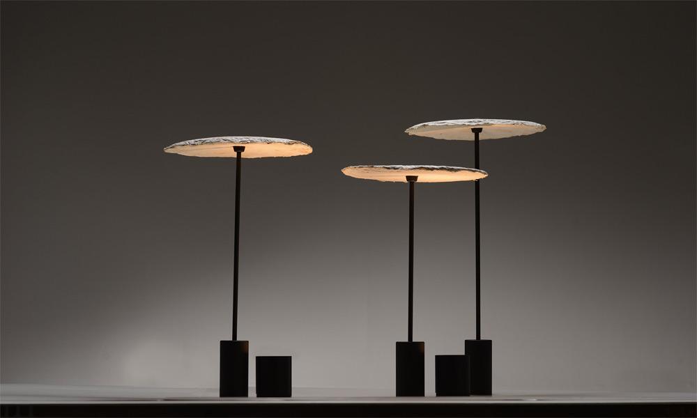 """Designerleuchten aus Pilzen: """"Mycelium Lamps"""" von Nir Meiri"""
